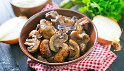 Срок и условия хранения жареных грибов