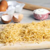 Срок и условия хранения лапши домашнего приготовления