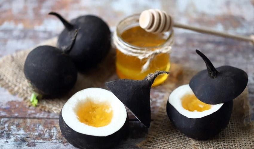 как хранить редьку с медом