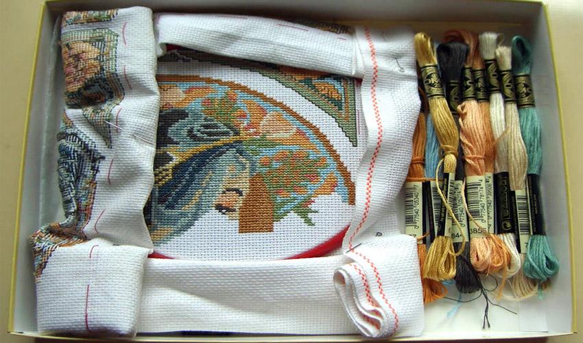 хранение вышивки дома