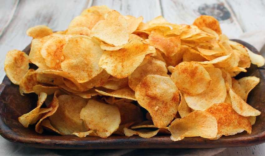 как хранить домашние чипсы