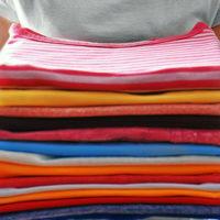 Как сложить футболку чтобы не помялась